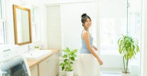 【沖縄の家づくり】毎日使う清潔感のあるサニタリールーム