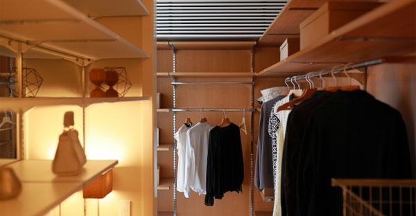 使用頻度で収納スペースを分ける