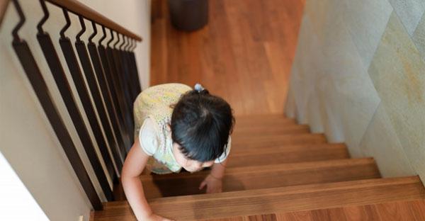 デメリット①階段での移動が大変